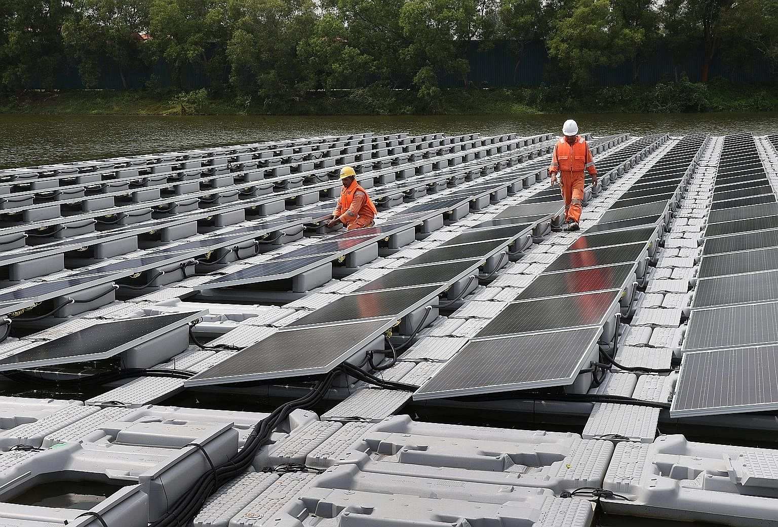 Singapore does not have large tracts of land for the installation of conventional solar panels, but solar energy can still be a viable power source for the Republic. Much research is being done to see how Singapore can overcome its space constraints,