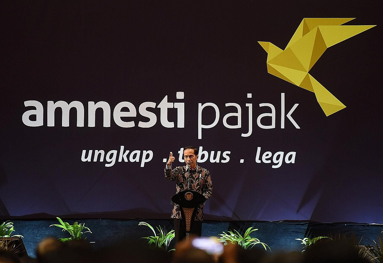 Indonesian President Joko Widodo announced a tax amnesty programme last year aimed at recovering billions of dollars lost to widespread tax evasion.