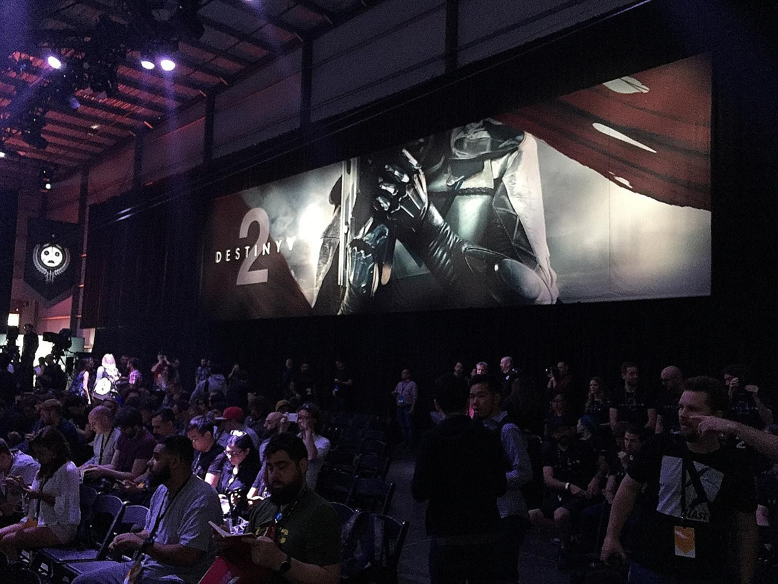 Bungie's Destiny 2 gameplay premiere event in Los Angeles last week. The sequel, to be released worldwide on Sept 8, appears to be finally living up to fans' initial expectations of a meaty storyline.