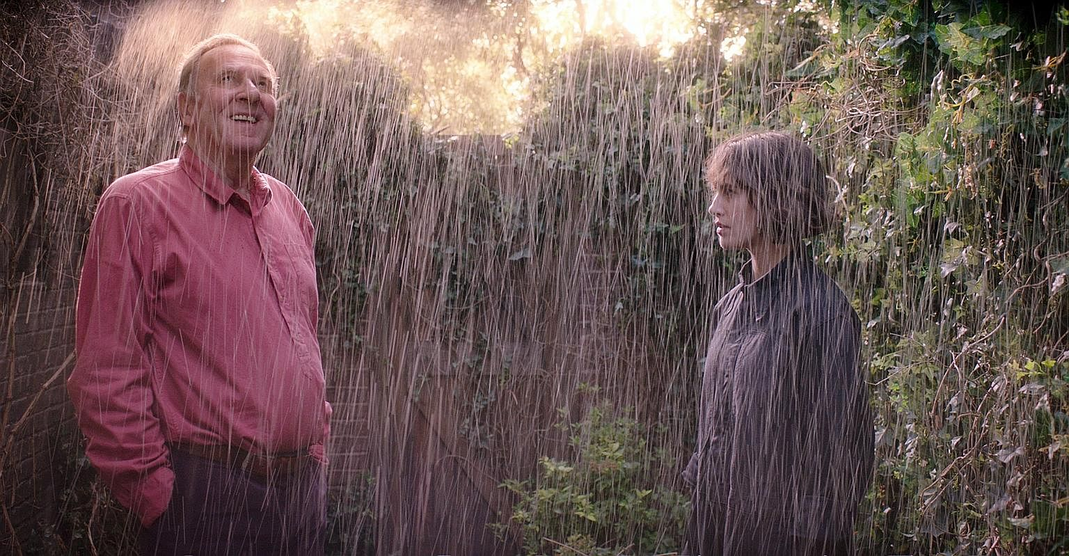 Tom Wilkinson and Jessica Brown Findlay in This Beautiful Fantastic.