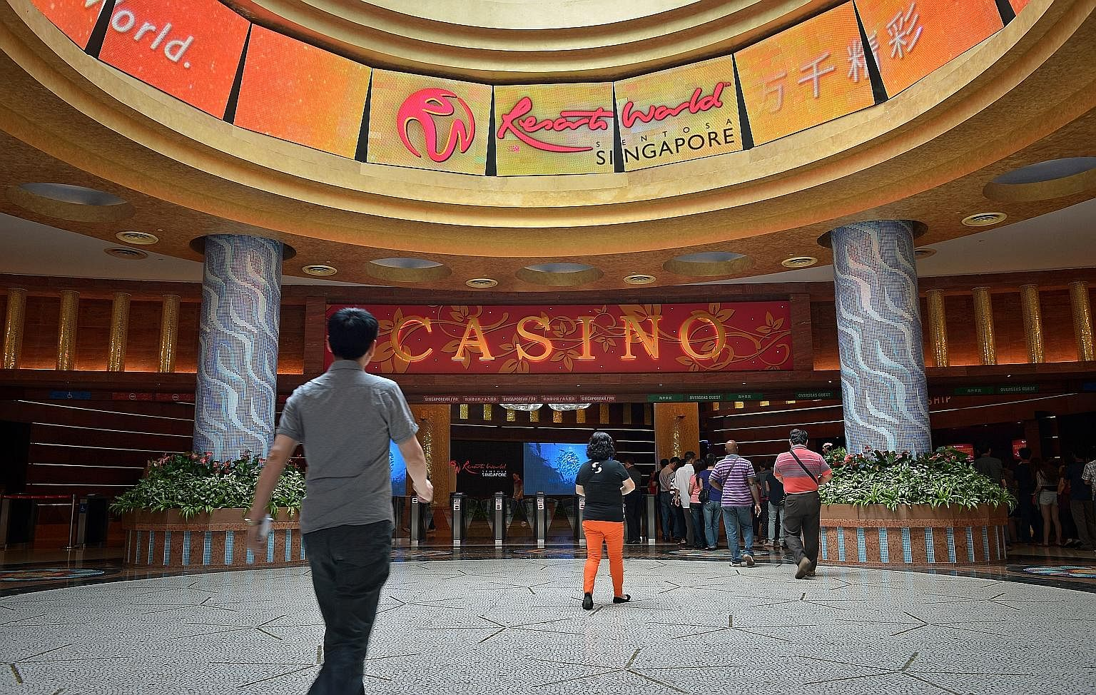 Genting Singapore shares rebounded well above the highest the firm paid for its share buyback, rising 55 per cent in eight months.