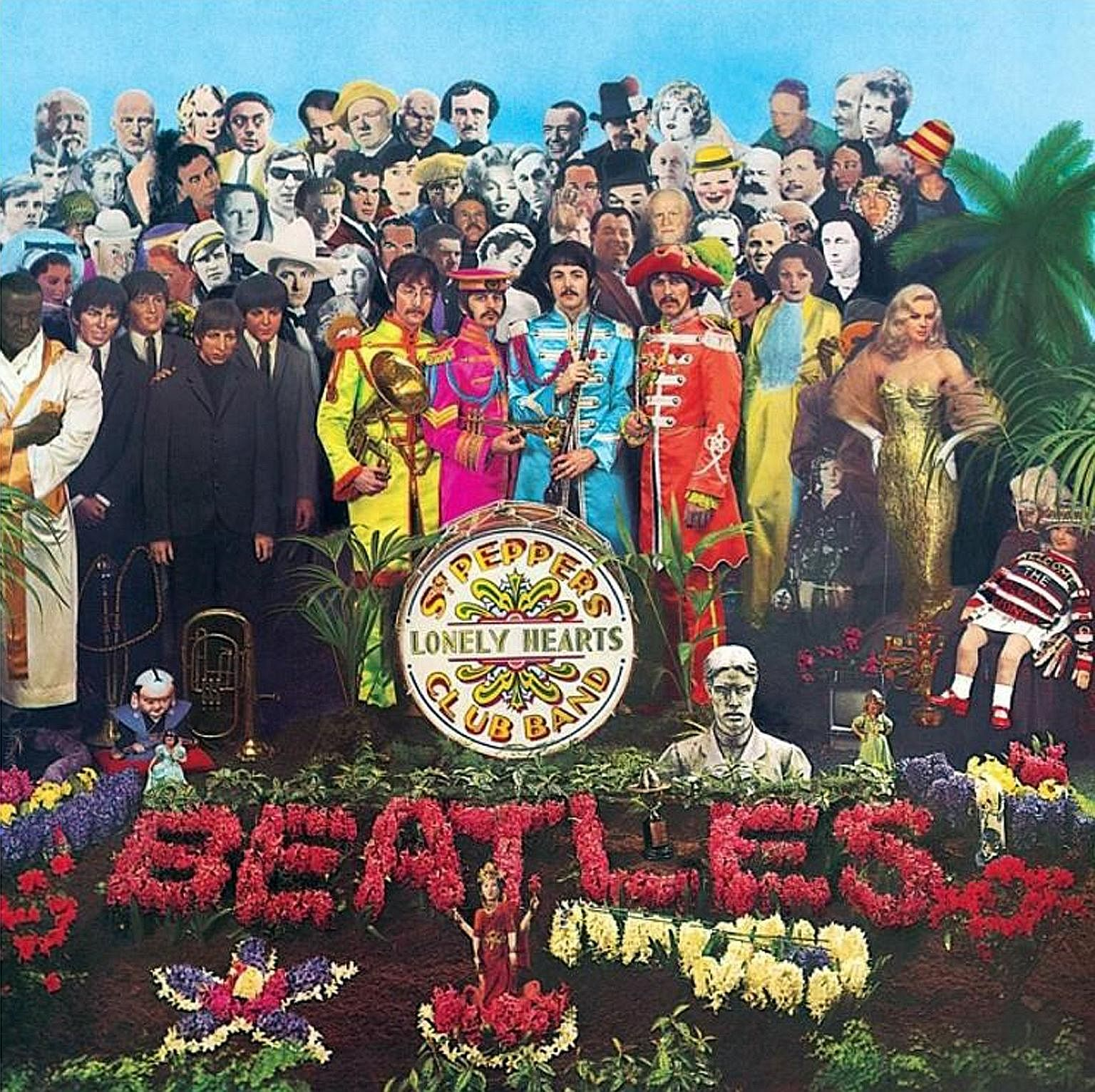 The 50th- anniversary deluxe version of The Beatles' Sgt Pepper's Lonely Hearts Club Band has been remastered to give the album a broader soundstage and crisper detail, giving more separation to individual voices and instruments.