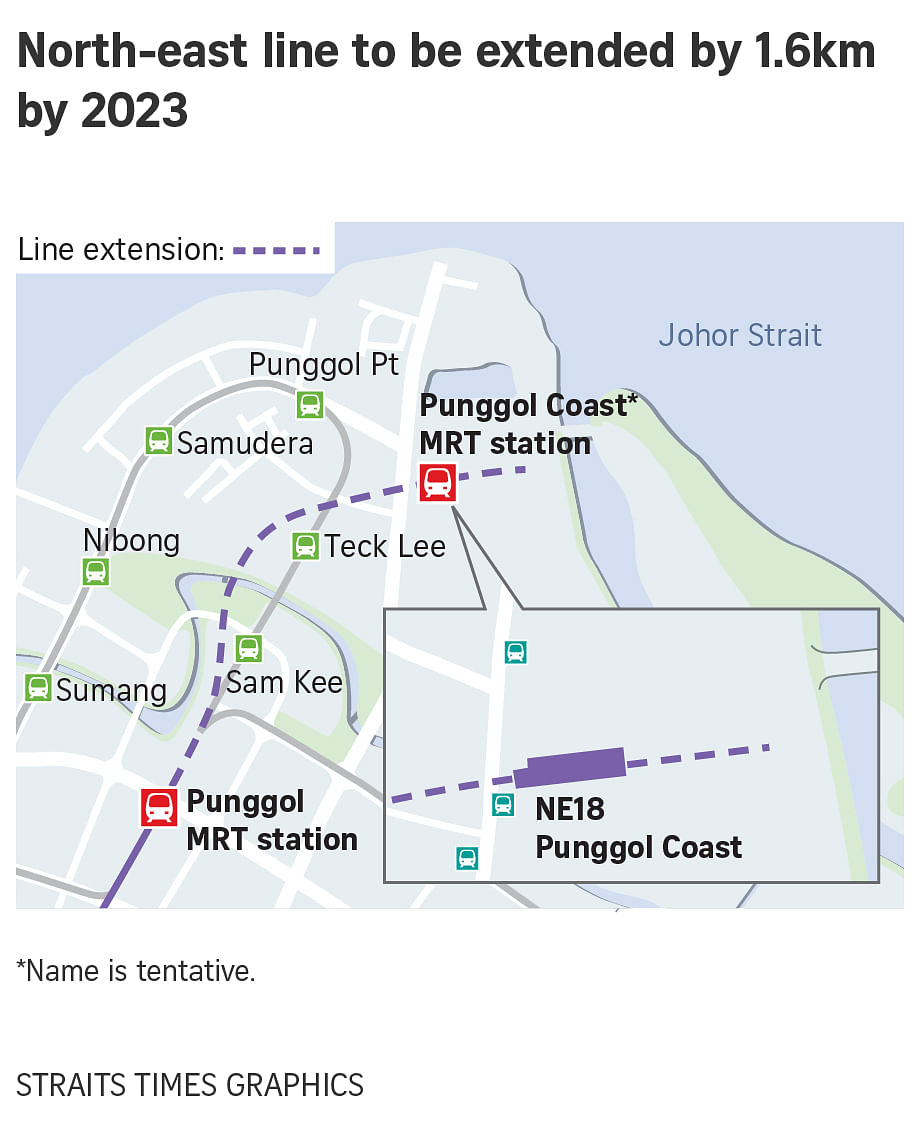 North-East Line extension serving Punggol North to open in ... on ( ̄︶ ̄)↗  id=39892