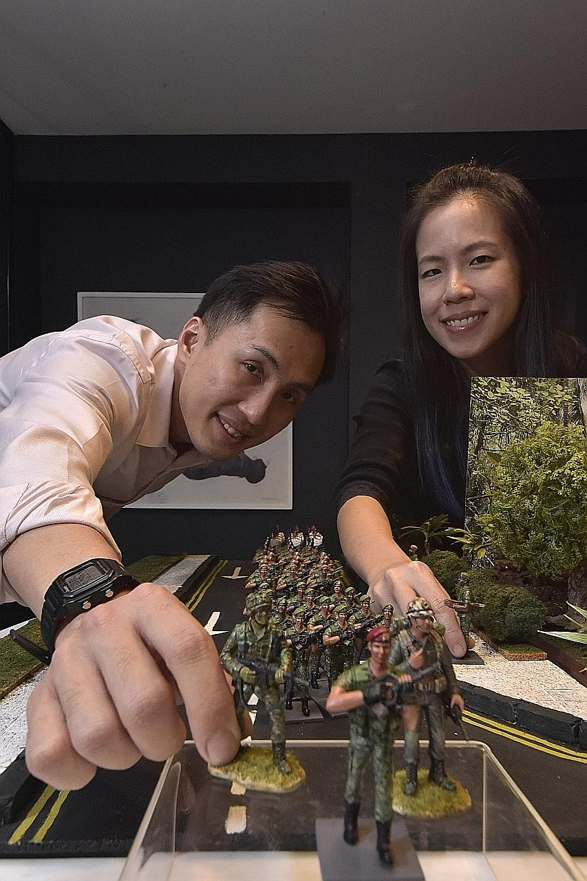 "Mr Caleb Lin and his wife, Ms Terra Chua, pumped a ""low six-figure sum"" into the venture."