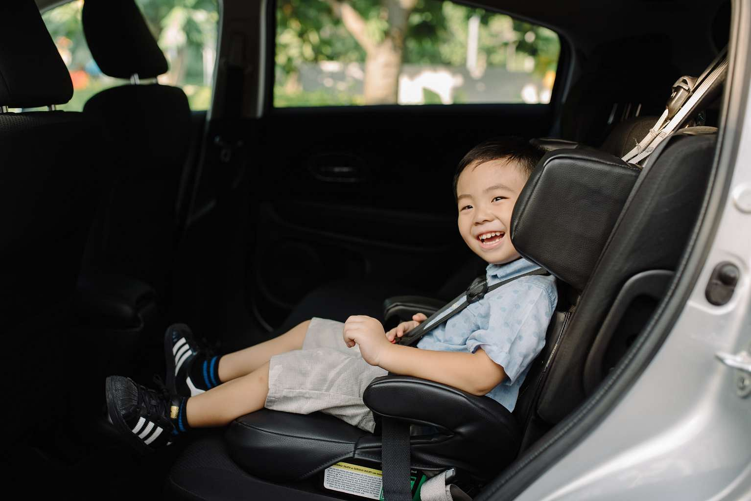 how to get an uber with a car seat