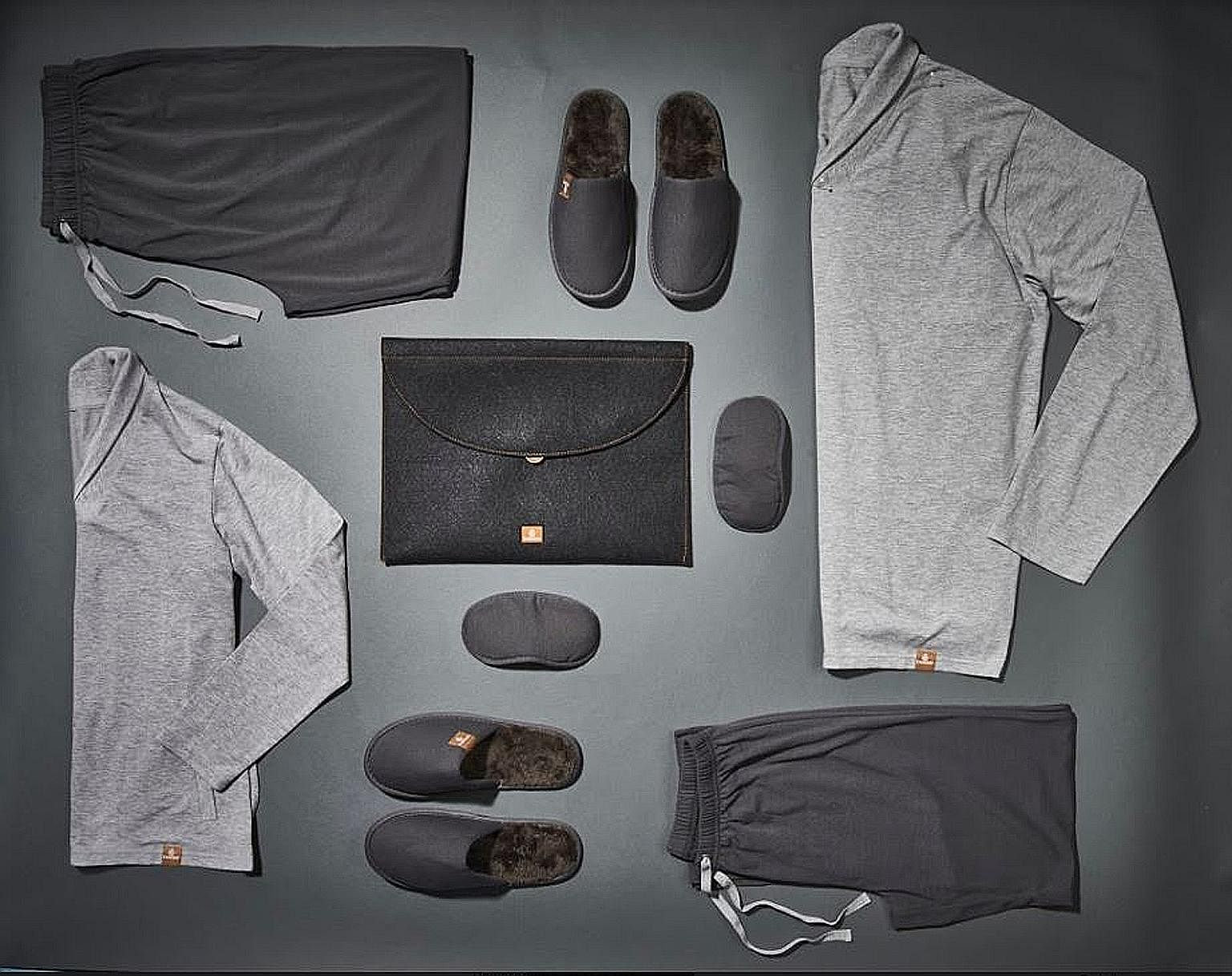 Emirates' new pyjamas set for travellers in its first class cabin.