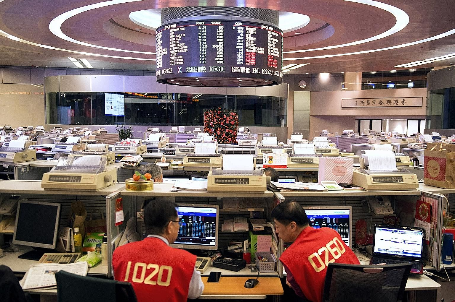 Traders at the Hong Kong stock exchange. Too many mainland companies listing in Hong Kong are going public before corporate governance practices are up to speed, the writer says. Traders say last week's mysterious US$3 billion rout in small-cap Hong