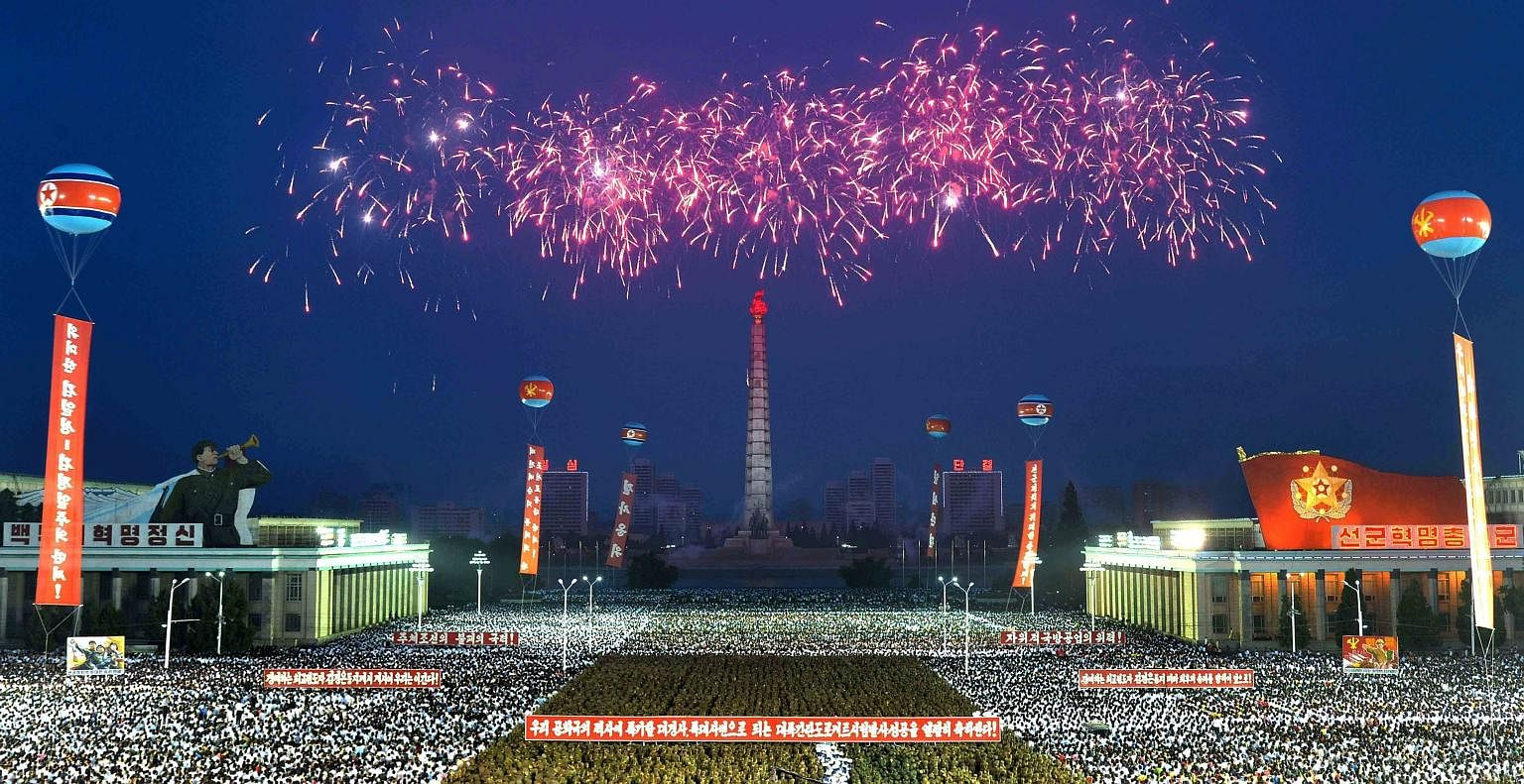 Thousands of officials, soldiers and citizens gathered at Kim Il Sung Square in Pyongyang on Thursday to celebrate the successful launch of an intercontinental ballistic missile. Analysts said the Hwasong-14 rocket had a range of up to 8,000km, which