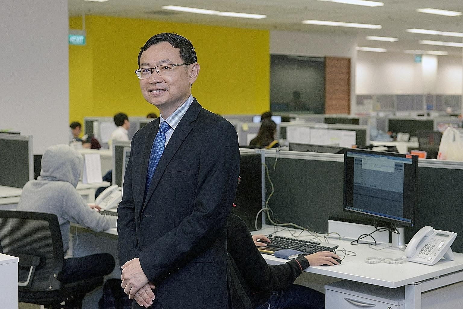 "NetLink Trust CEO Tong Yew Heng is not worried that wired broadband may get displaced by wireless broadband, delivered via mobile networks. ""The fibre network is future-proof because it has unlimited capacity (and) fibre carries a very wide bandwidth"