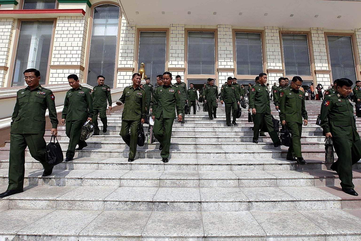Myanmar's military controls certain key ministries as well as a quarter of all parliamentary seats.