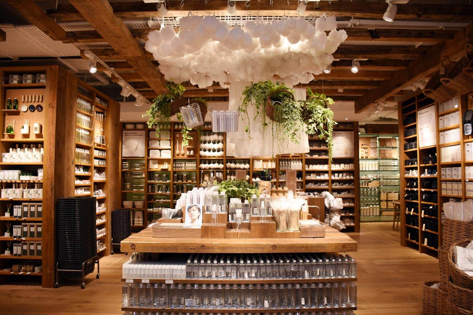 Opening of Muji's flagship store at Plaza Singapura. PHOTO: ALICIA CHAN FOR  THE STRAITS TIMES