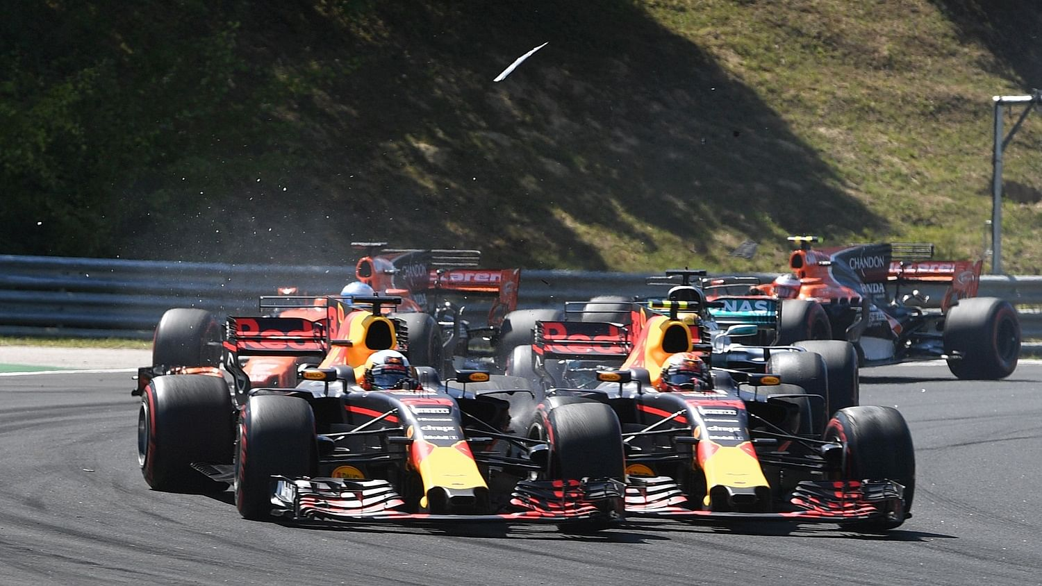 Ricciardo's Beef With His Teammate Has Been Dealt With