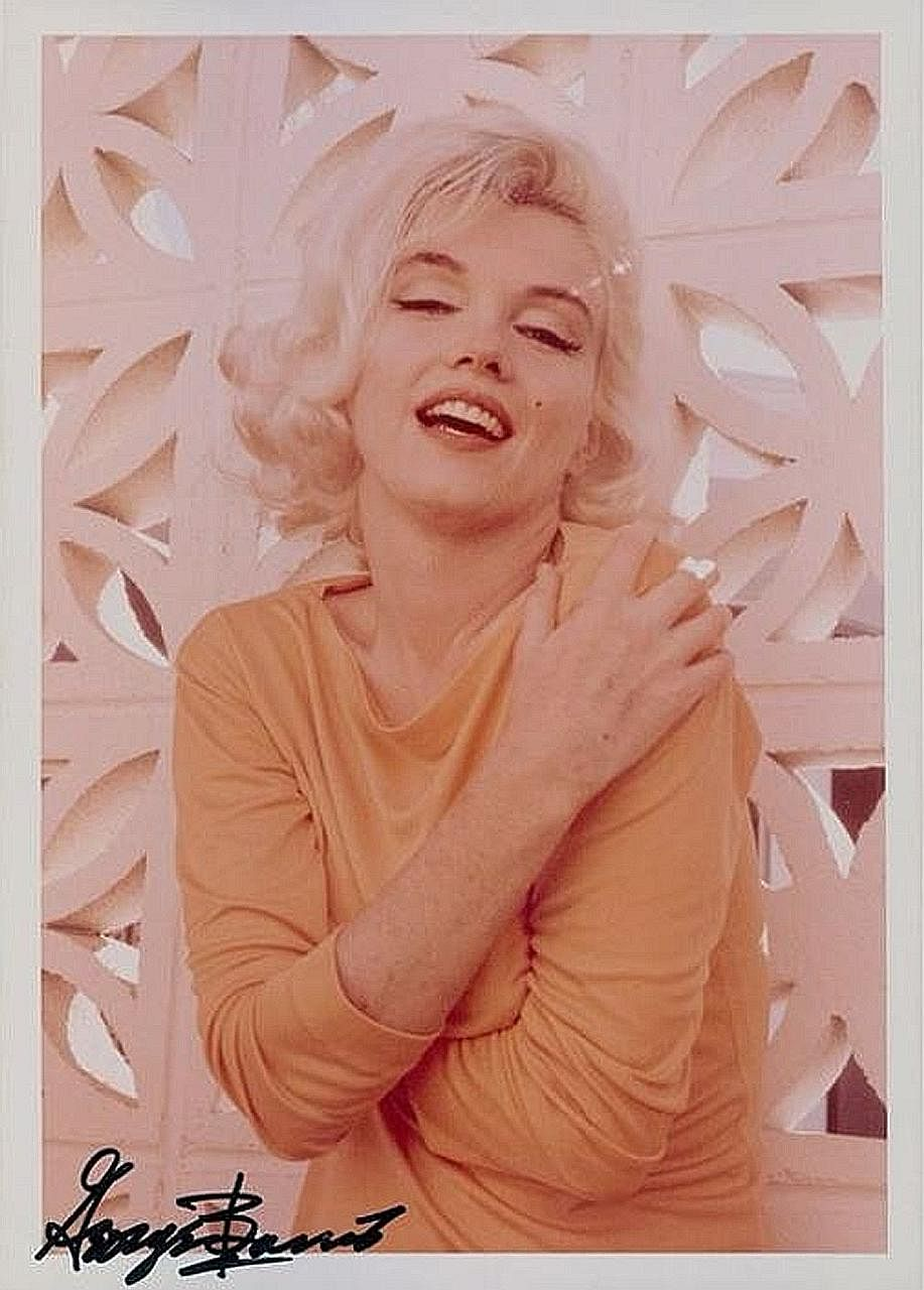 More than 150 photos of Marilyn Monroe from a shoot are up for auction.