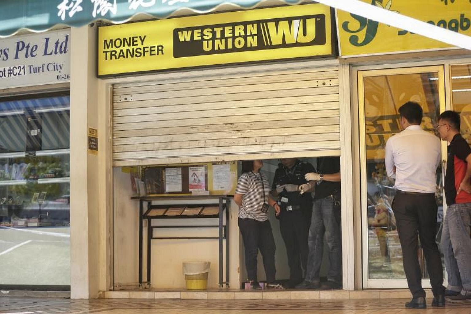Singaporean Man Charged With Western Union Armed Robbery Courts Crime News Top Stories The Straits Times
