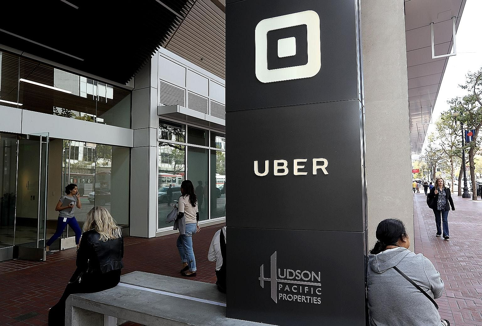 Headquartered in San Francisco (left), Uber's wildly ambitious vision to take the brand worldwide has already taken a beating with its retreat from China and Russia. Even so, it does provide a useful service for passengers, adding to their travel opt
