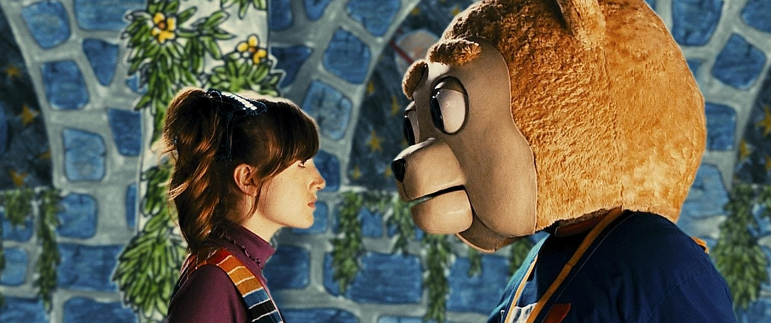 Comedy Brigsby Bear, starring Kate Lyn Sheil and Kyle Mooney, in a furry mascot costume, is quietly charming.