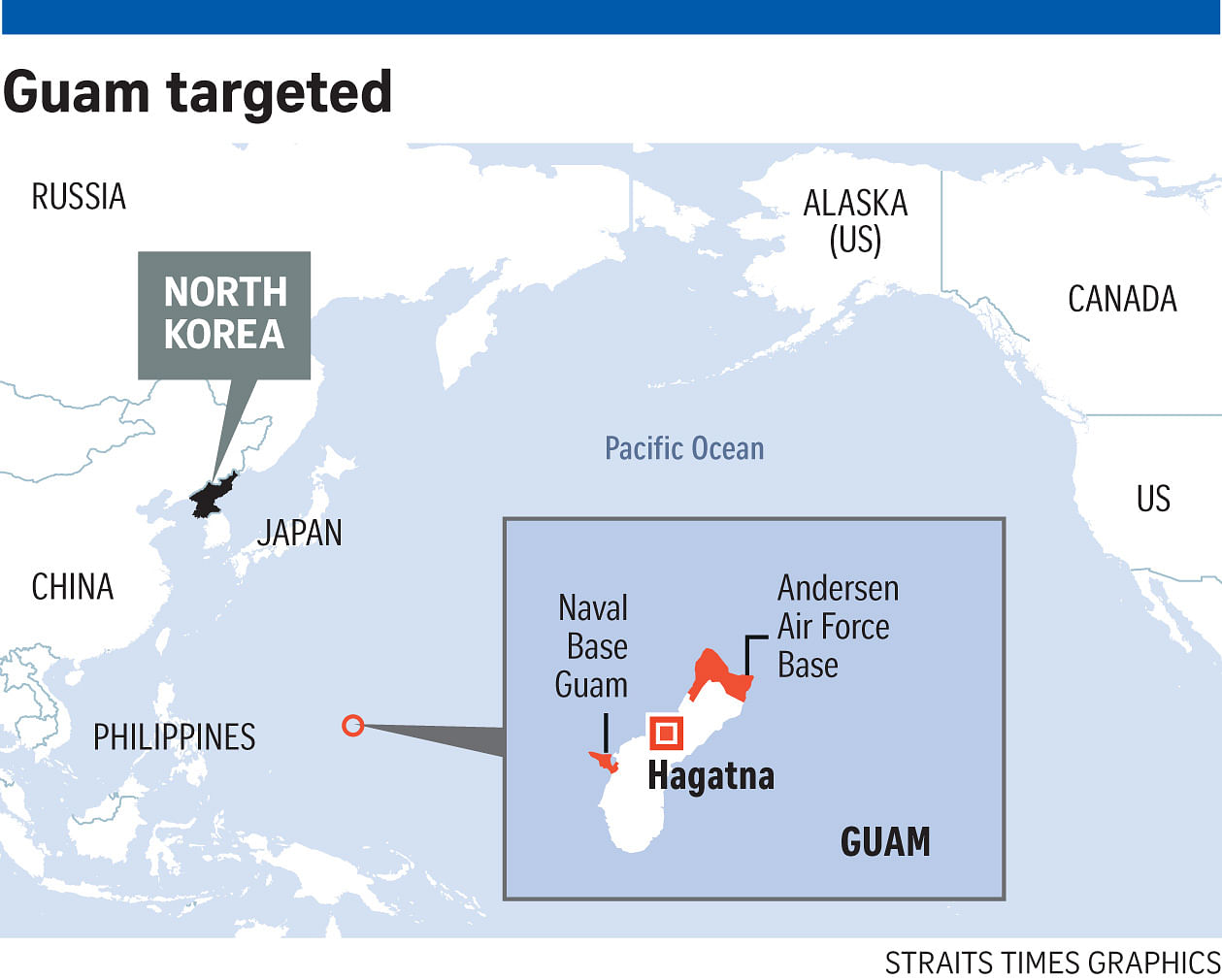 North korea will develop guam strike plan by mid august state media a philippine presidential spokesman said on tv yesterday that there are contingency plans in place against north korean threats gumiabroncs Gallery