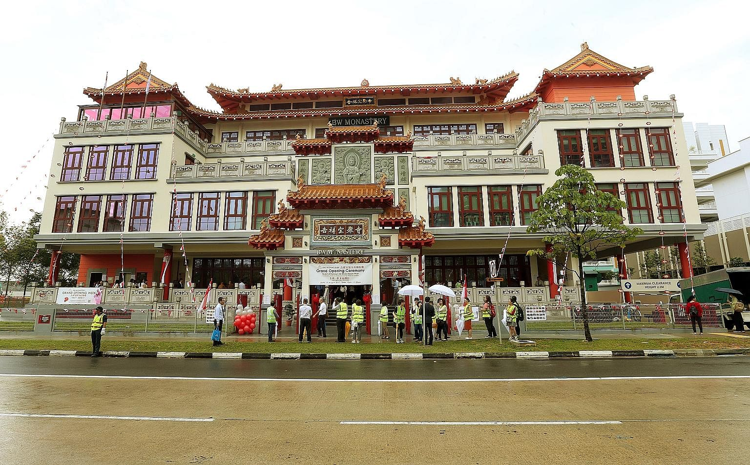Growing membership in a Buddhist organisation has seen it look north for more real estate. Yesterday, the 15-year-old BW Monastery officially opened its new headquarters in Woodlands. The four-storey complex is the size of about 30 five-room HDB flat