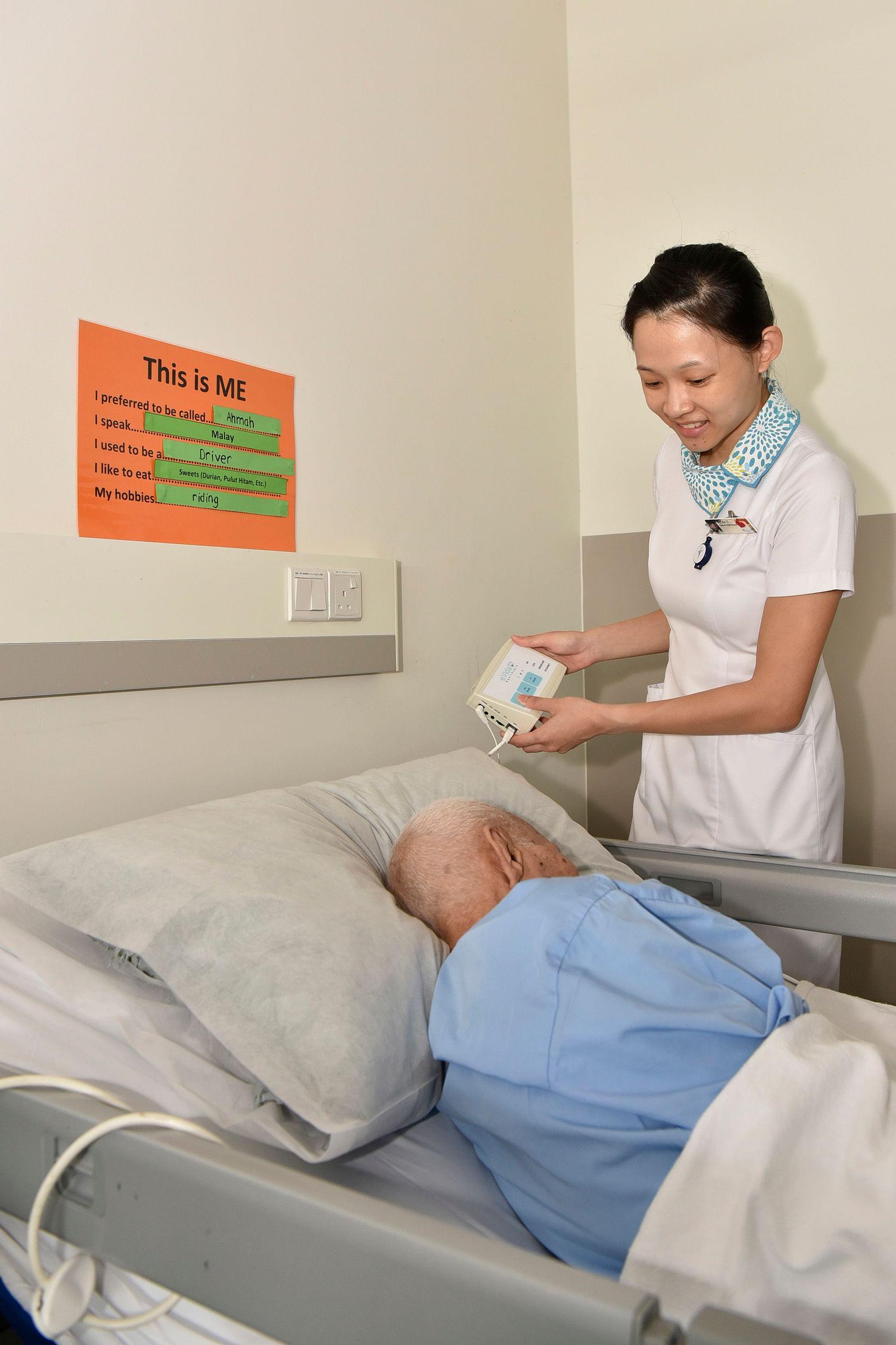 dementia restraint procedures