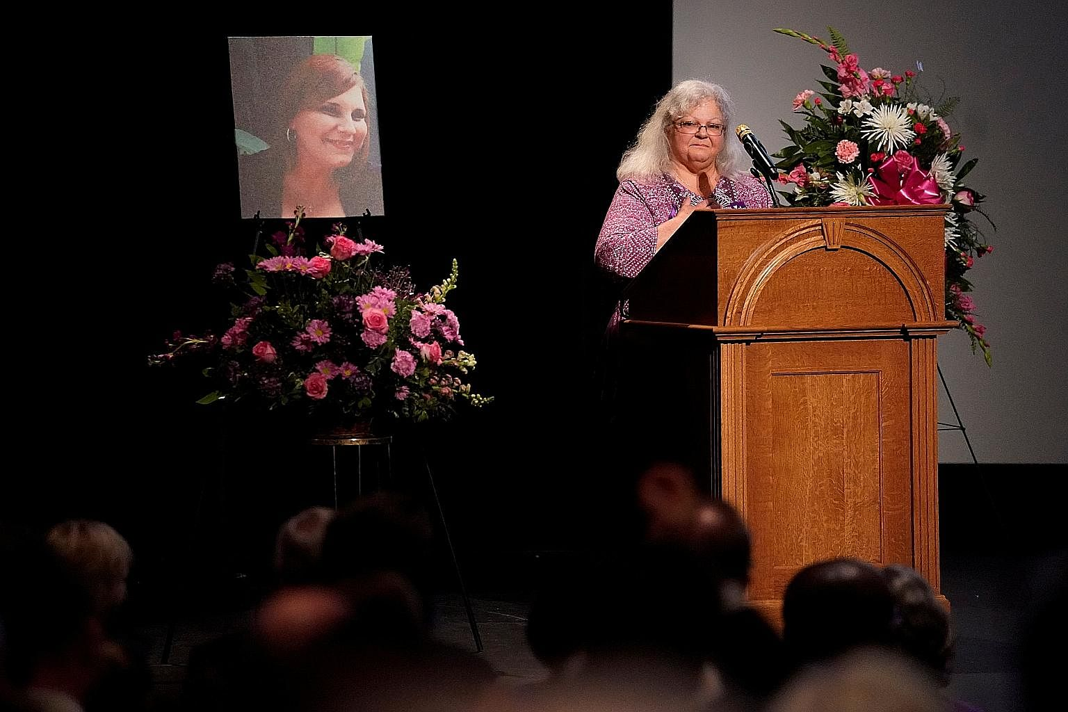 Charlottesville car attack victim Heather Heyer's mother Susan Bro received a standing ovation during her remarks at a memorial service for her daughter at the city's Paramount Theatre on Wednesday.