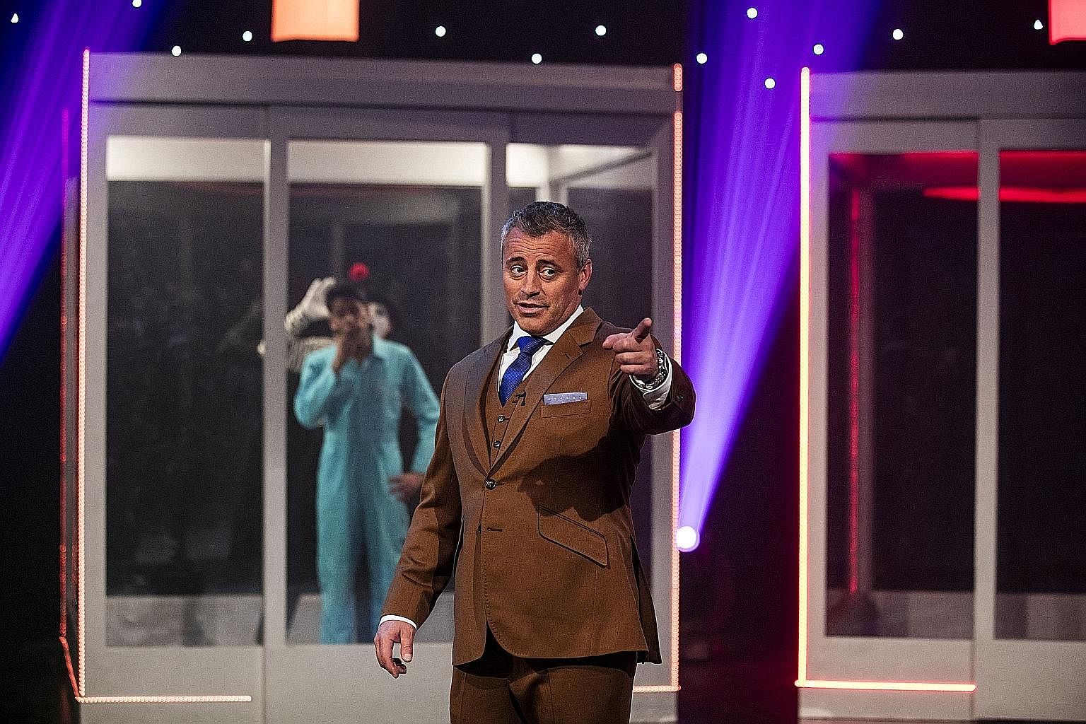 Matt LeBlanc plays a selfish and sex-obsessed version of himself in Episodes.