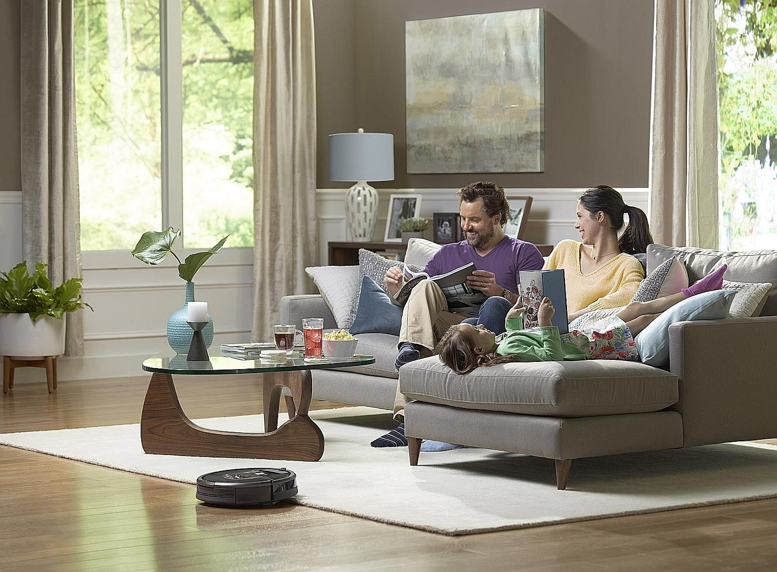 The Roomba 980 by iRobot is pricey but its ease of use and ability to traverse various obstacles in the home makes it an excellent device.