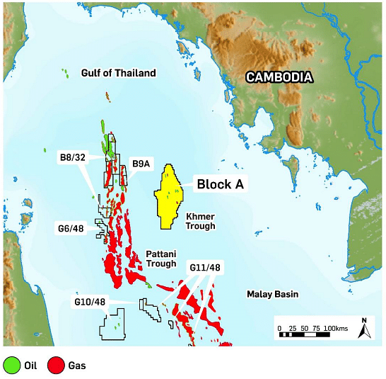 Cambodia Signs Deal First-Ever Offshore Oil