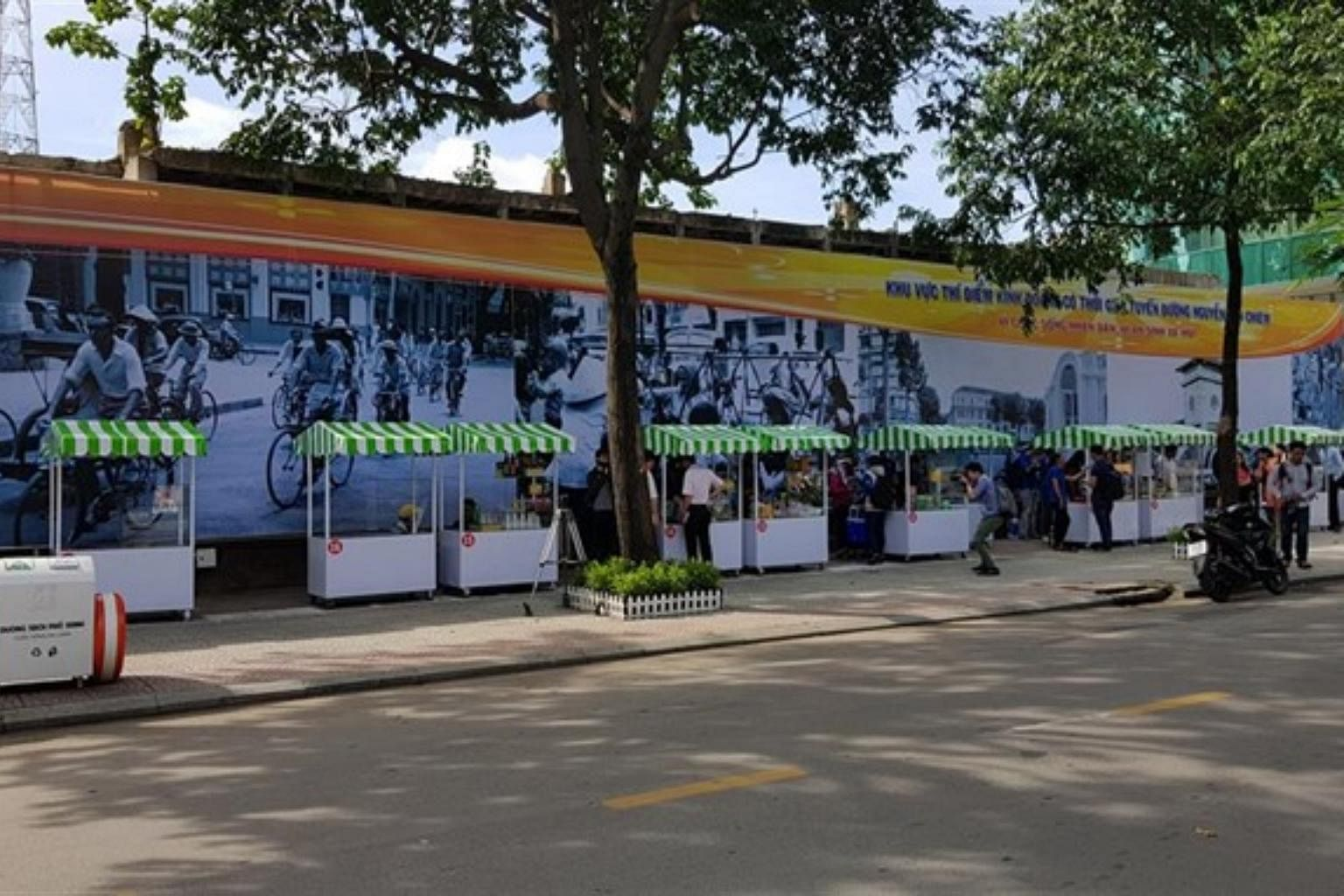 ho chi minh city launches first food street for local hawkers se