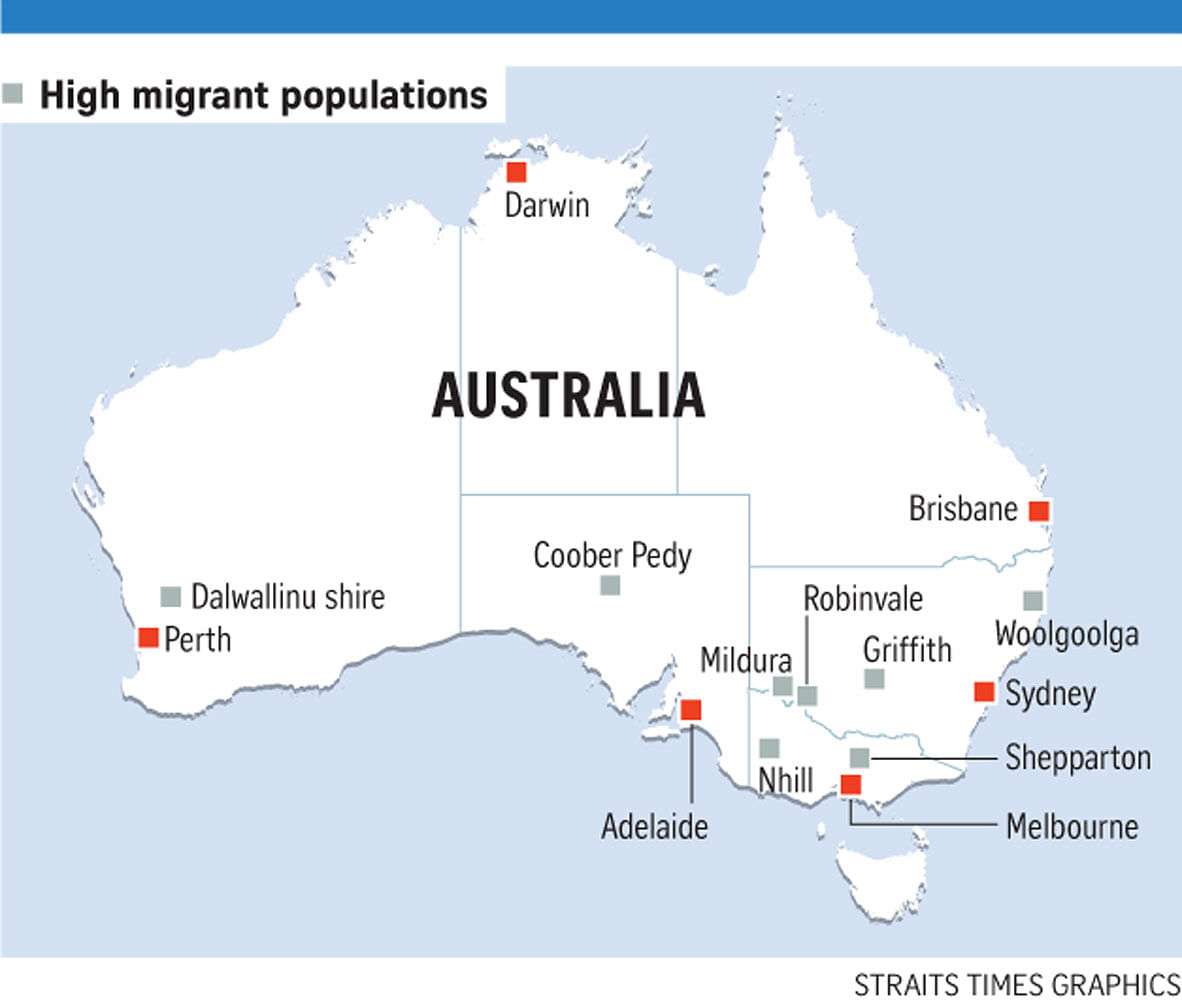 migrants in australia Australia, canada, and the united states often are described as traditional  countries of immigration, as historically each encouraged immigration for  permanent.
