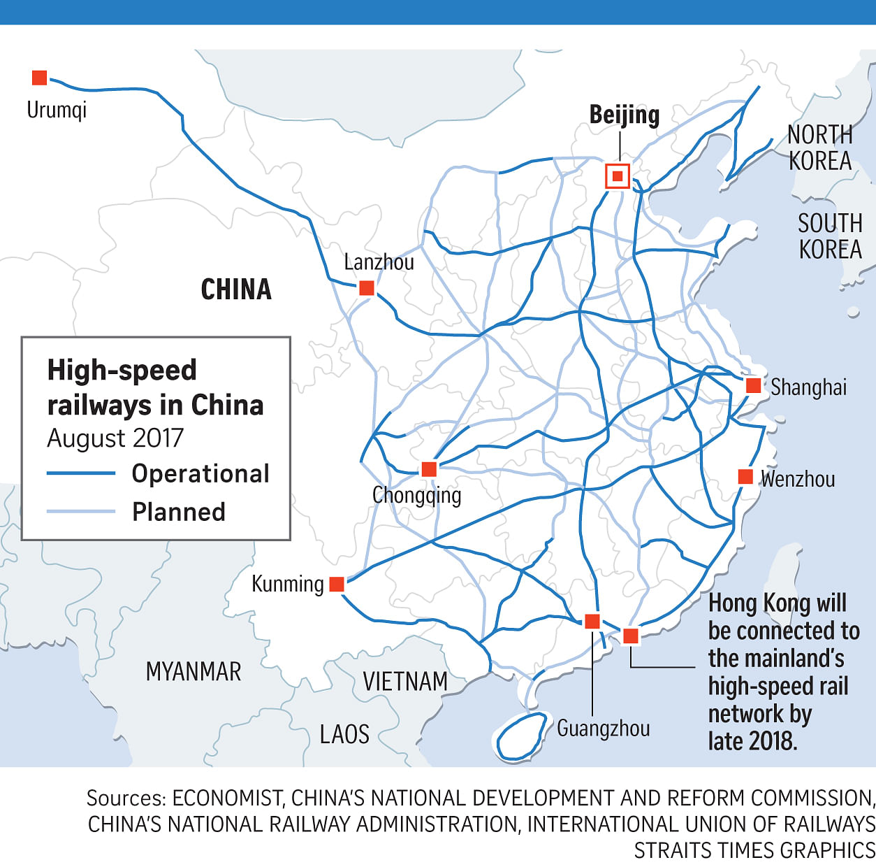 China\'s rail ambitions run at full speed, Asia News & Top Stories ...