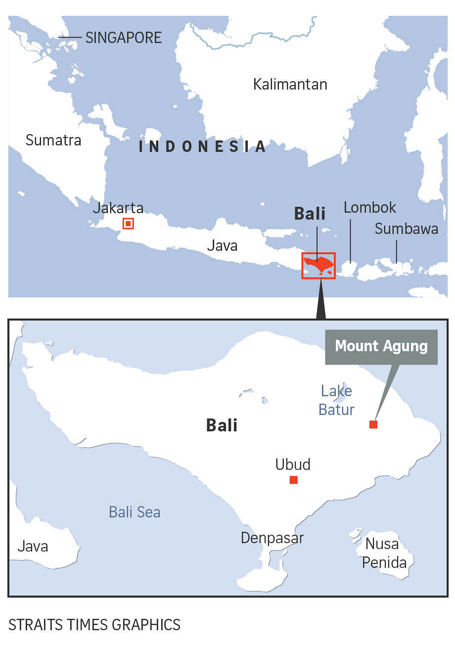 Bali on alert amid fears of possible eruption of mount agung volcano records show that mount agung erupted in 1908 1823 1843 and 1963 the last eruption in march 1963 killed some 1100 people and hurled an ash cloud as gumiabroncs Gallery