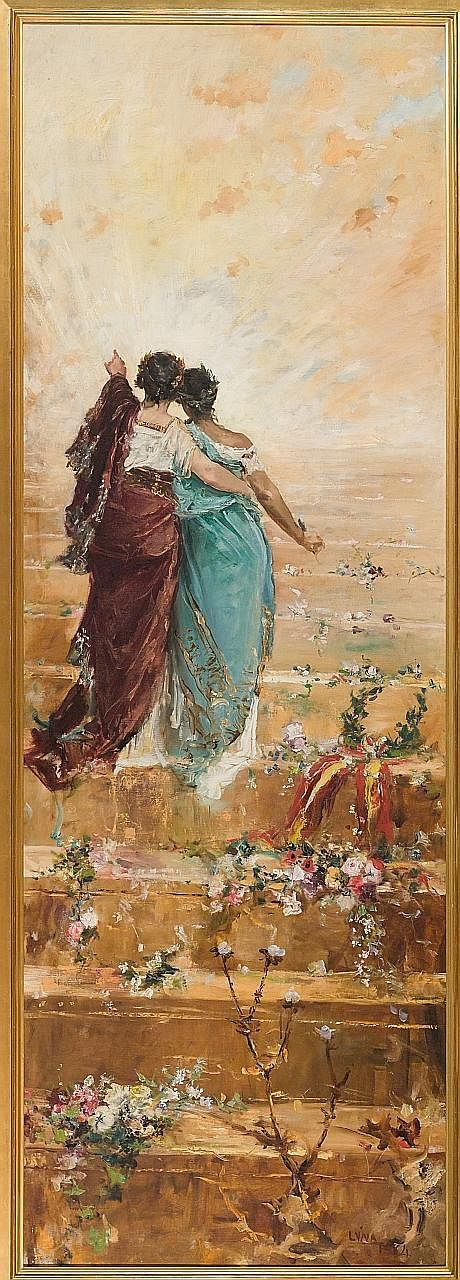 Raden Saleh And Juan Luna exhibition at the National Gallery. It brings together, for the first time, the works of two significant South-east Asian artists