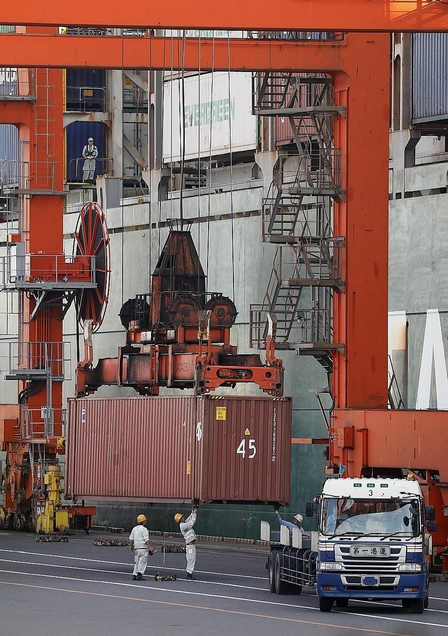 Japan has enjoyed a run of strong growth in exports this year, while rising imports add to signs that domestic demand is firming as well. The Japanese economy grew at an annualised 2.5 per cent in the second quarter.