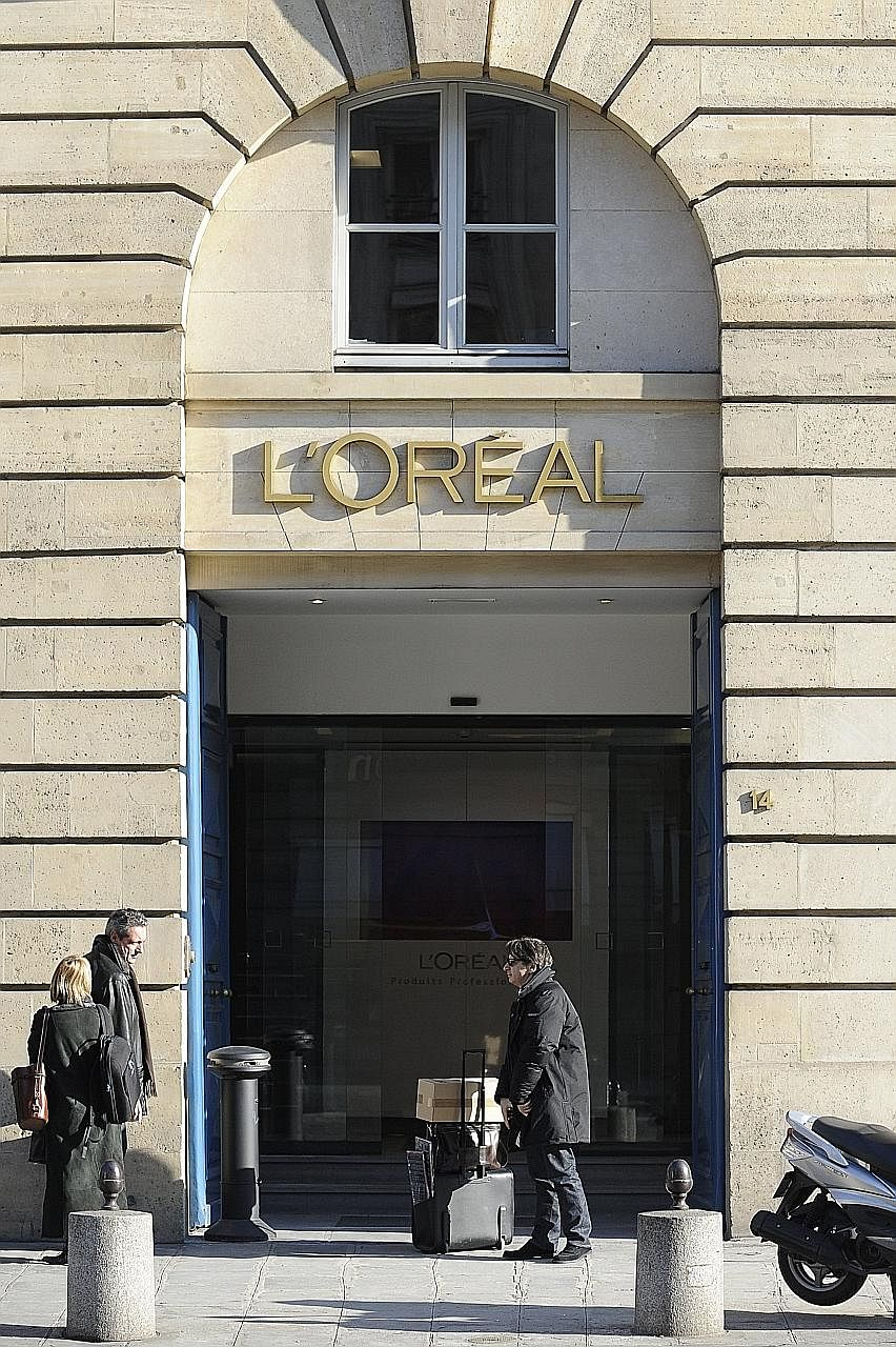 L'Oreal family matriarch Liliane Bettencourt died on Wednesday at the age of 94. A L'Oreal store in Paris. Nestle has faced calls to sell its 23 per cent stake in L'Oreal and Ms Bettencourt's death may make a sale to the French company more likely, a