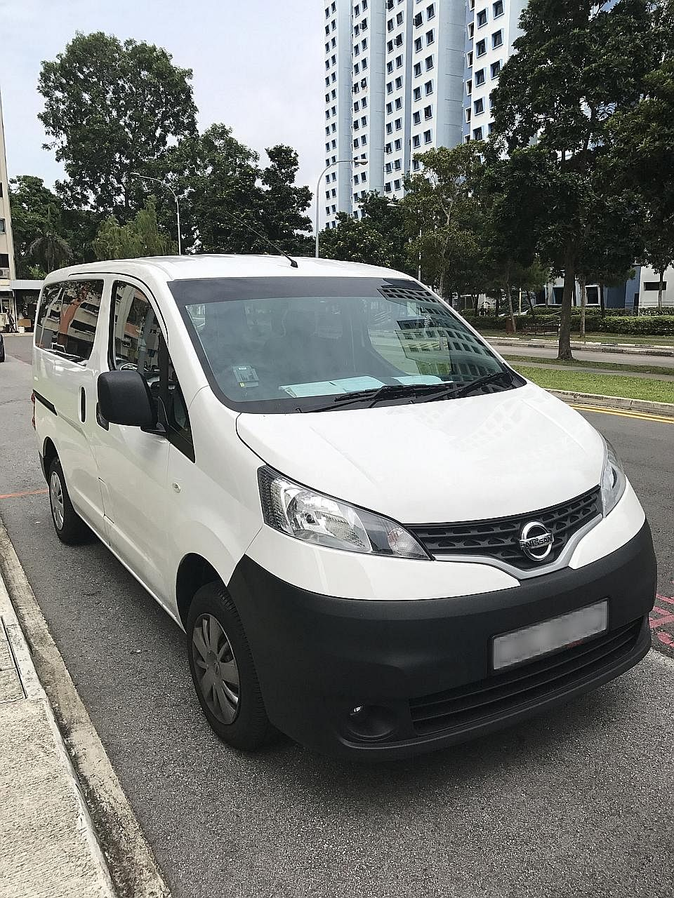 Mr Khristian Kelvin Koh found that the people who had stolen his van had thrown away many of his personal belongings. They even altered his licence plate, and clocked around 400km in the 15 hours they had the vehicle.