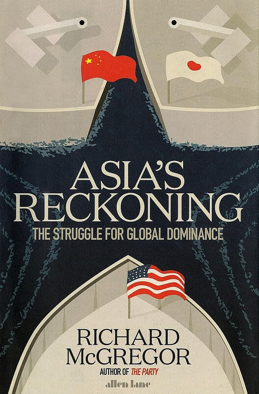 Asia's Reckoning (above) by Richard McGregor is well-timed, given the tensions in Asia and the United States over North Korea's firing of long-range ballistic missiles.