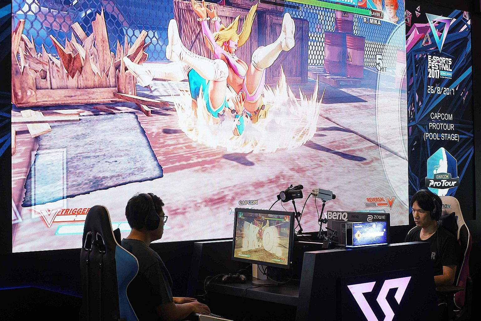Gamers taking part in the Hong Kong eSports festival recently. All the infrastructural support in the world can't change how the public views competitive gaming if players fixate only on skill and neglect to build mass-market appeal.