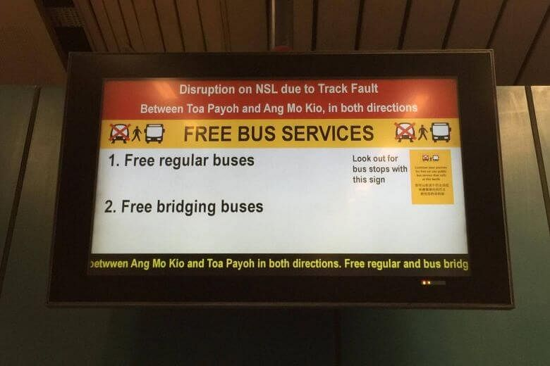 Full train service on NSL resumes after longest breakdown in SMRT history
