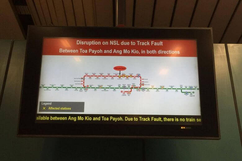 Problem with water pumps behind MRT disruption