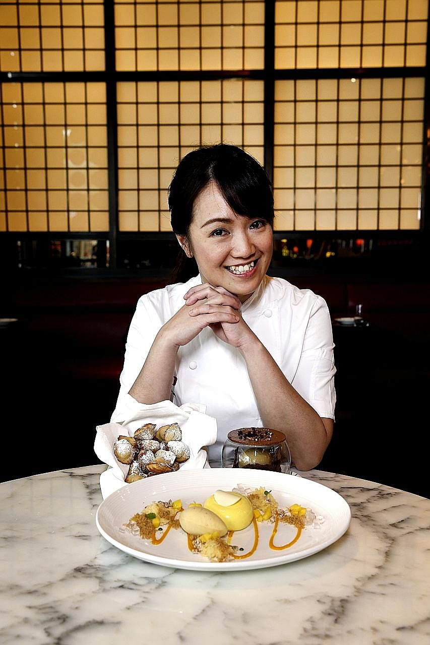 When pastry chef Mandy Pan was living on a small budget, she started to bake to satisfy her sweet tooth, but grew to have a passion for pastry.