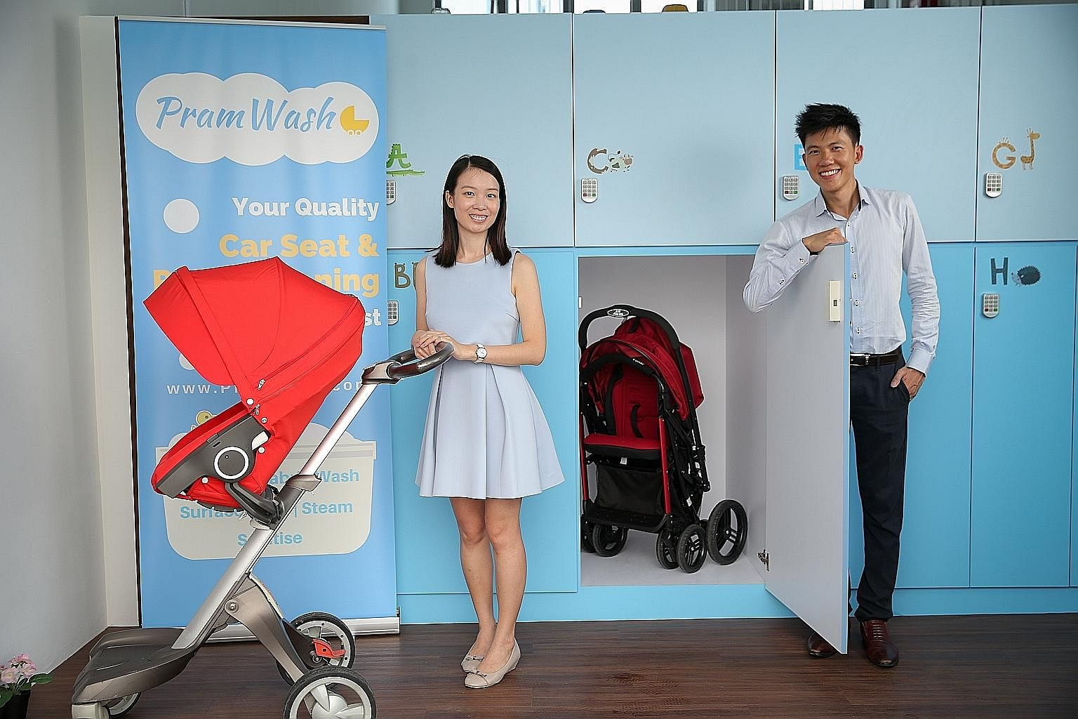 Thanks to baby, idea for pram service was born, Business News & Top Stories - The Straits Times
