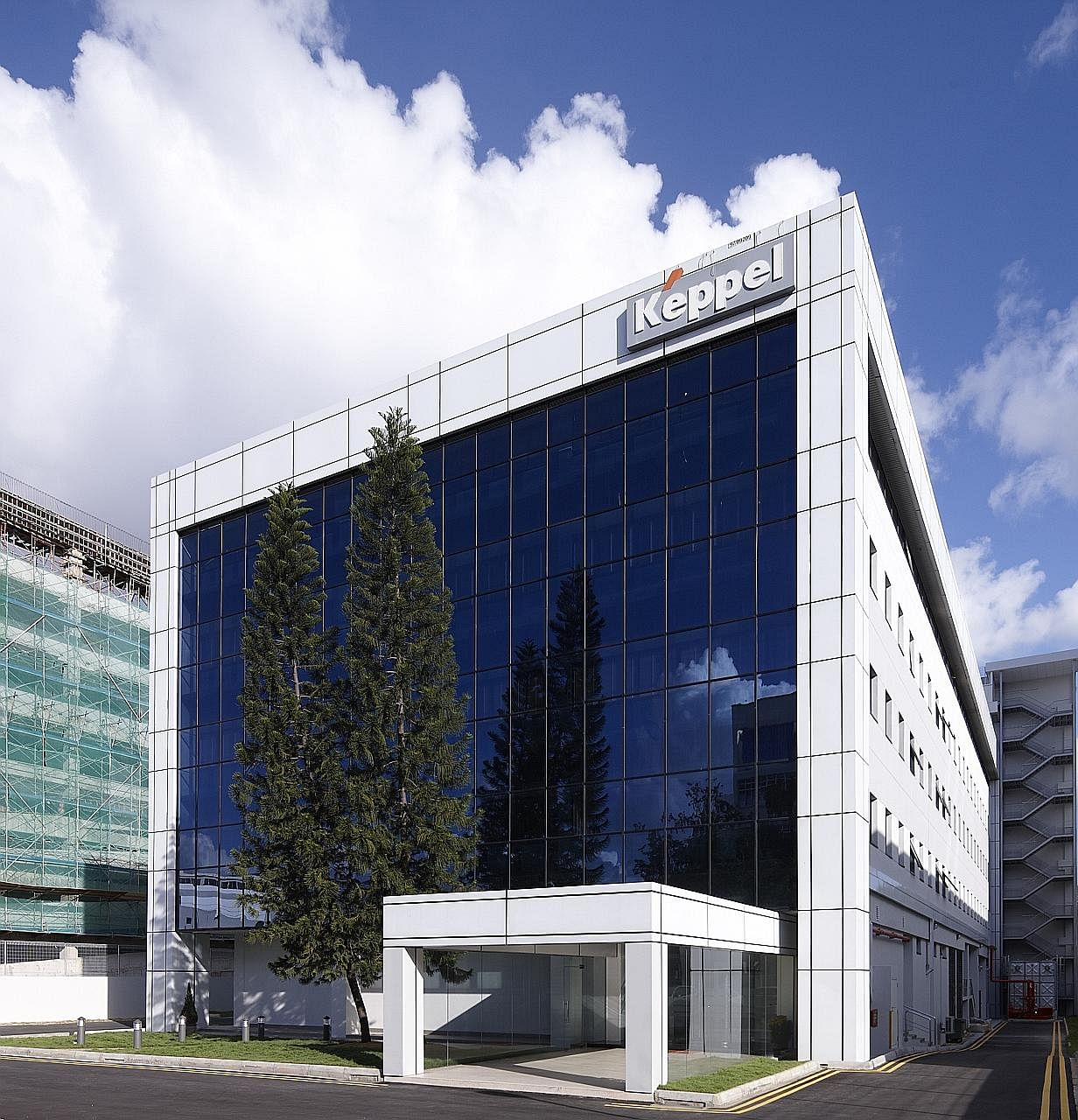 A Singapore data centre in Keppel DC Reit's portfolio. Distributable income to unitholders rose 20.2 per cent to $20.2 million, on the back of acquisitions of the Milan, Cardiff and B10 data centres (DC) and the 90 per cent interest in Keppel DC Sing