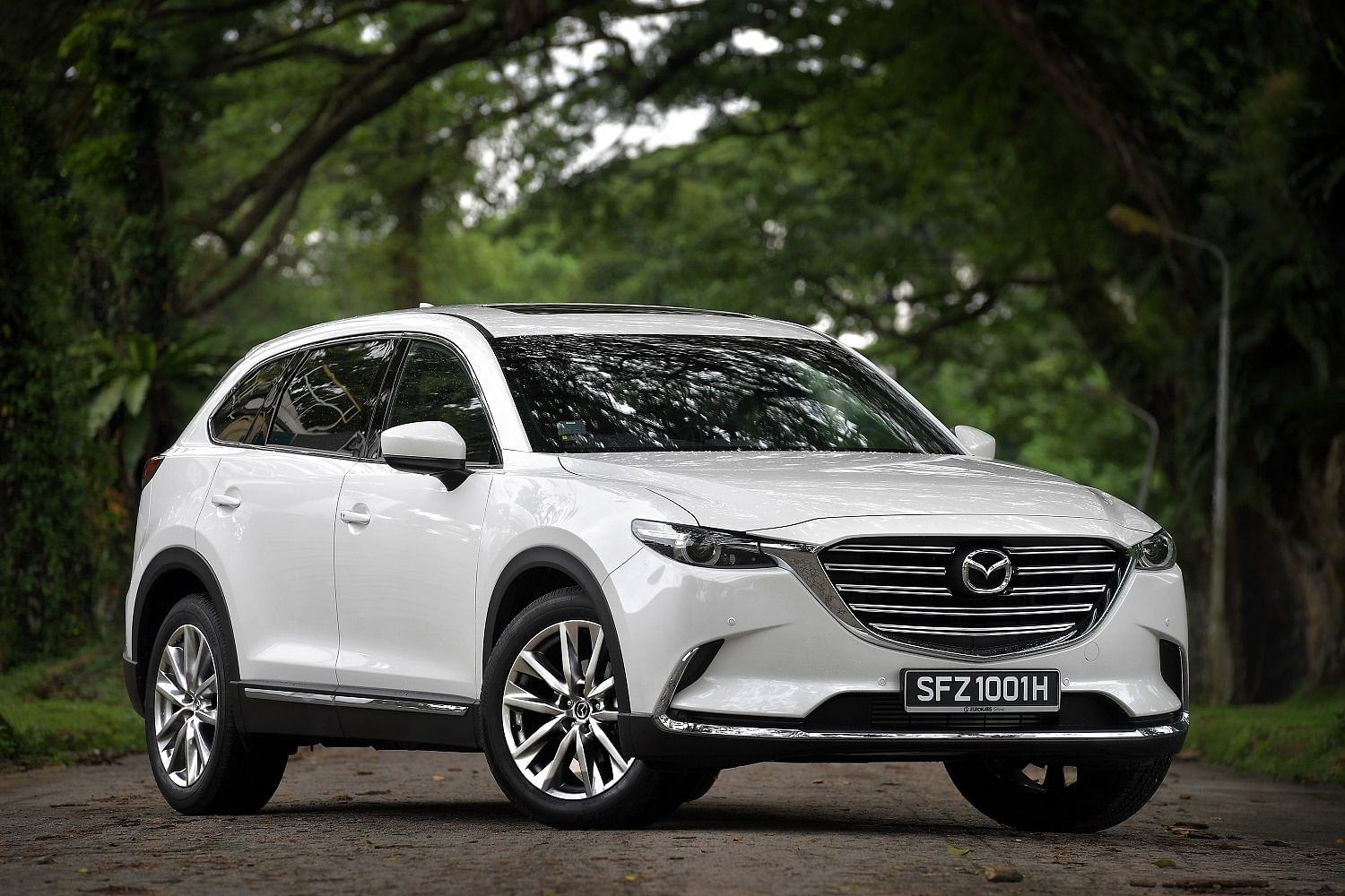 Mazda Maestro New Cx 9 Marries Practicality With Driving Panache