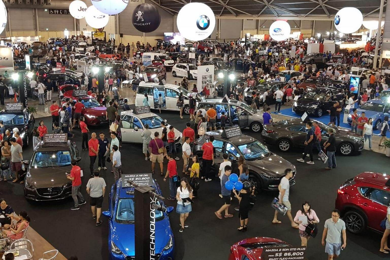 Over Vehicles Sold By Midday At Car Show CarsExpo Singapore - Show car