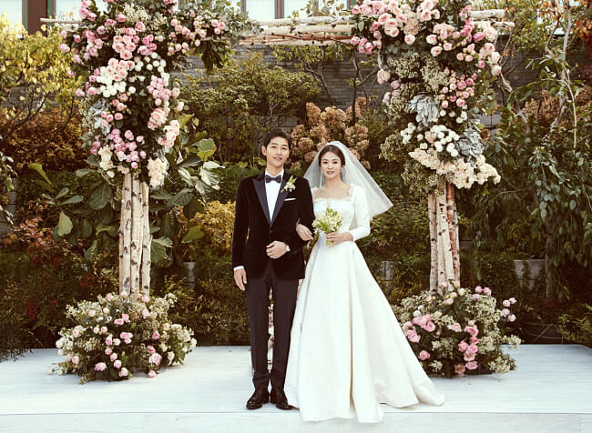 Official Wedding Photos.Official Wedding Photos Of Song Couple Released