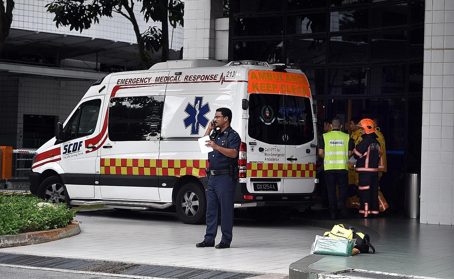 88658e493e0376 SCDF ambulances to be allowed to run red lights