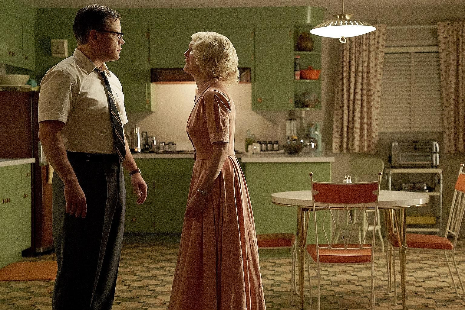 (Clockwise from top) Suburbicon feels recycled; Victoria & Abdul gets tired quickly and A Ghost Story is mersmerising and haunting.