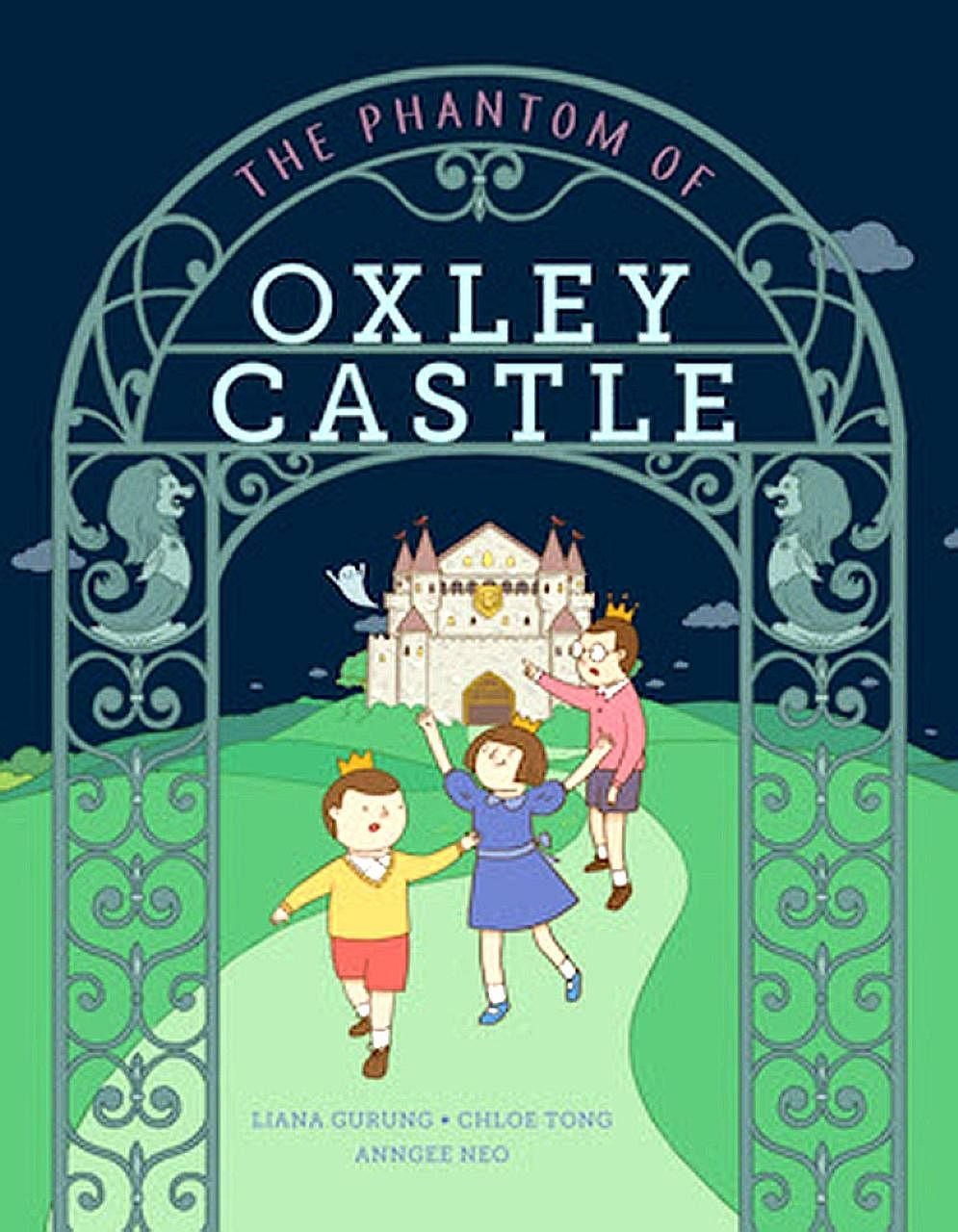 The book is about a grand castle with 38 rooms, located on a tropical island. Two young princes, a princess and their pesky butler named OB Markus live in the castle.
