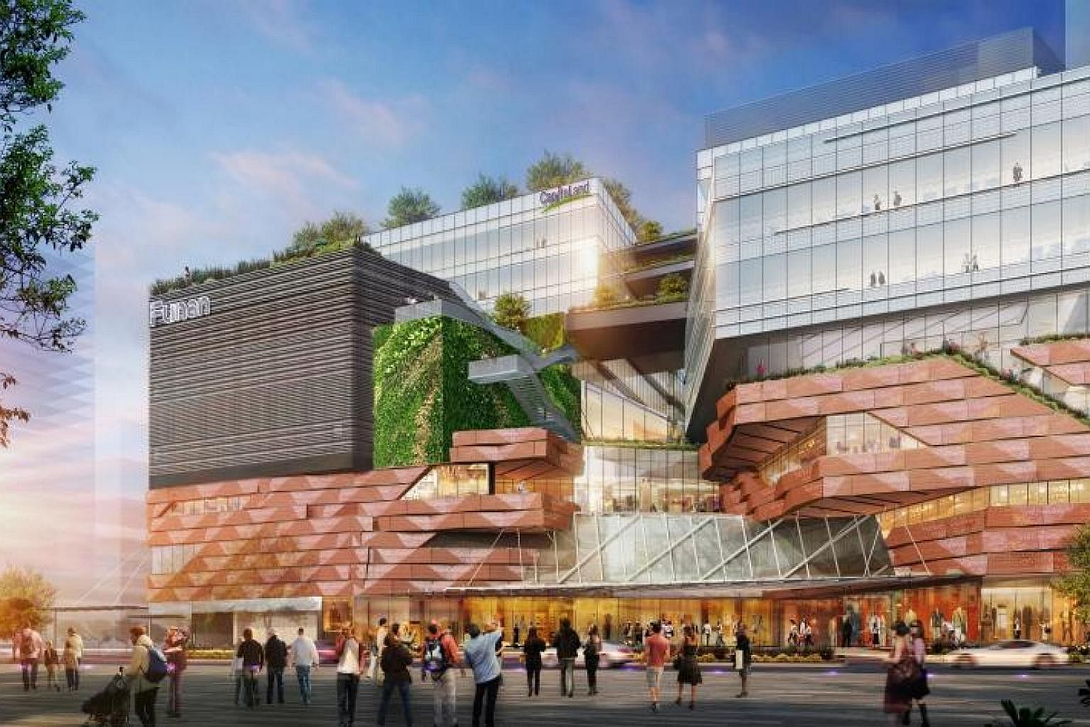 Underground Walkway Will Link The New Funan Mall To City Hall Mrt Singapore News Top Stories The Straits Times