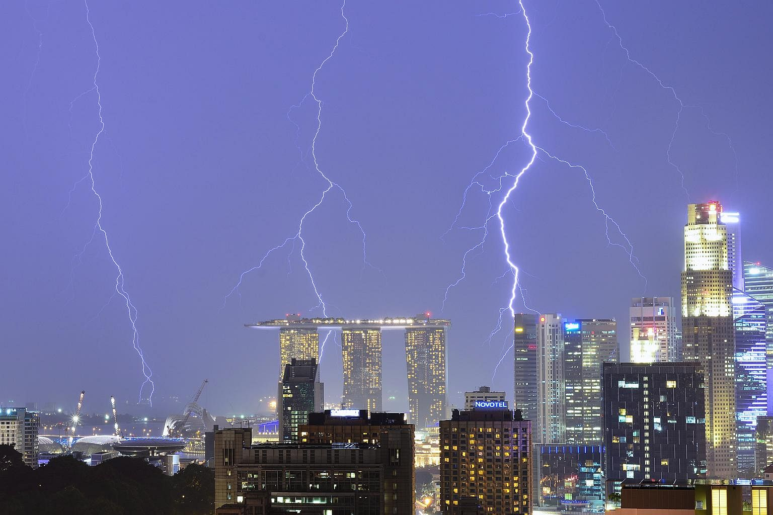 MRT lightning incident: Did you know Singapore is known as